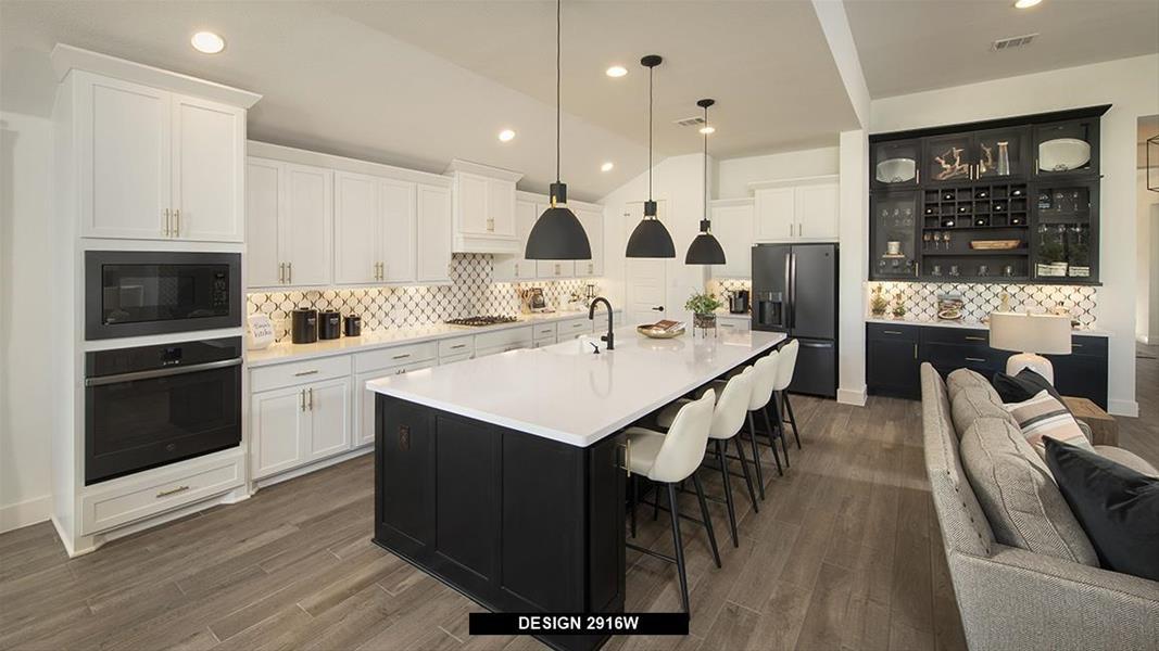 Design 2619W Kitchen
