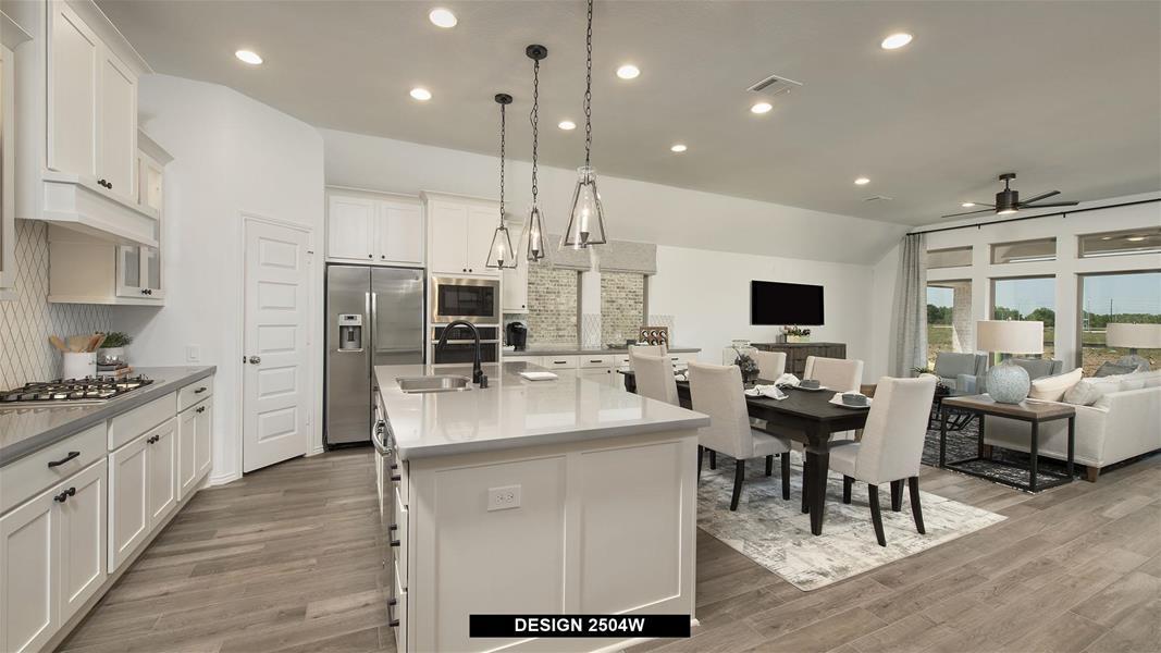 Design 2504W Kitchen