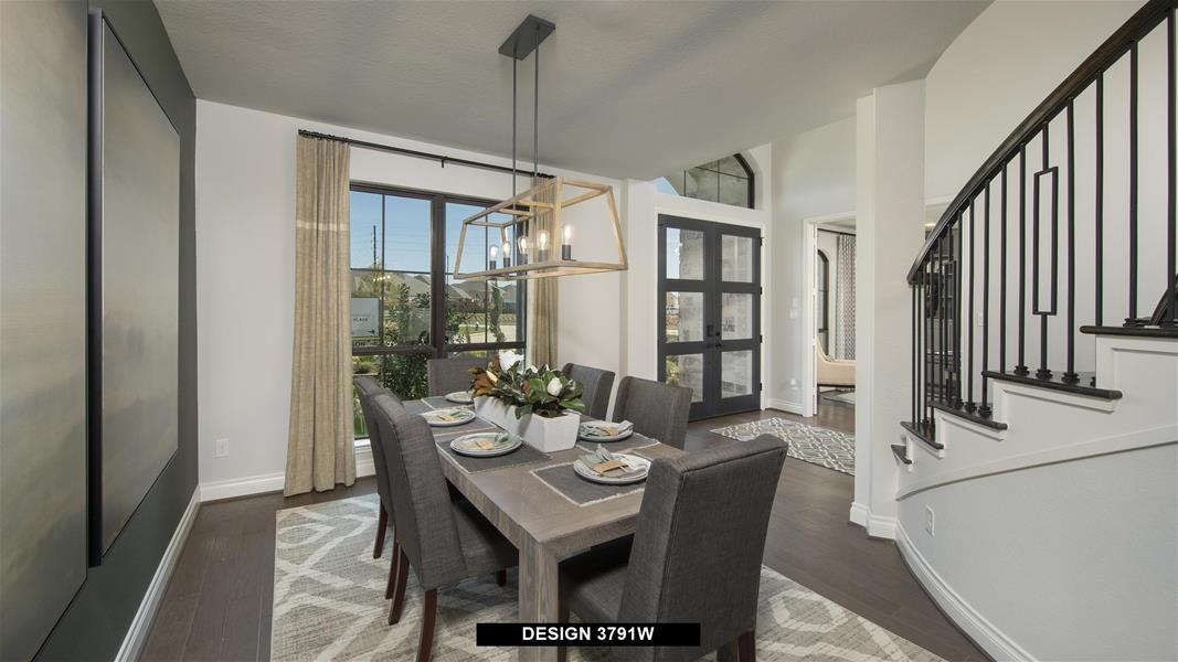 Design 3791W Dining Areas