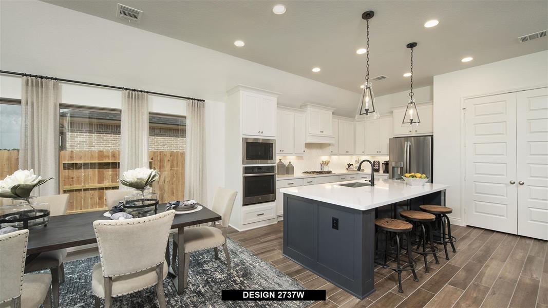 Design 2737W Kitchen