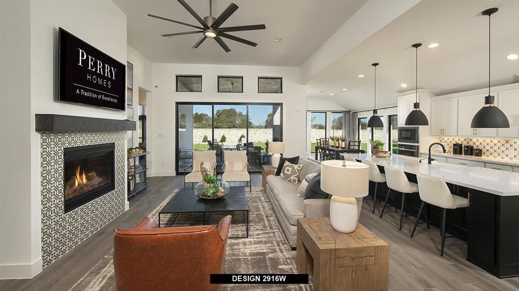 Design 2916W Family Room