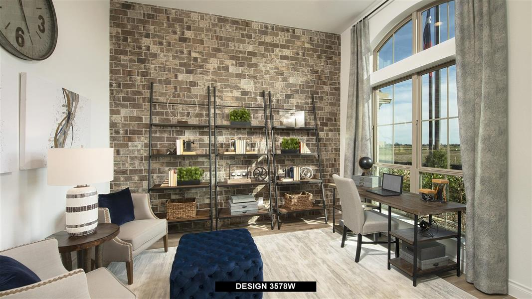 Design 3578W Home Office