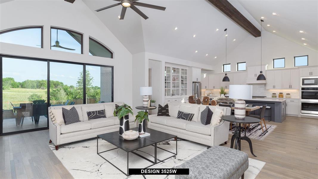 Design 3525W Family Room
