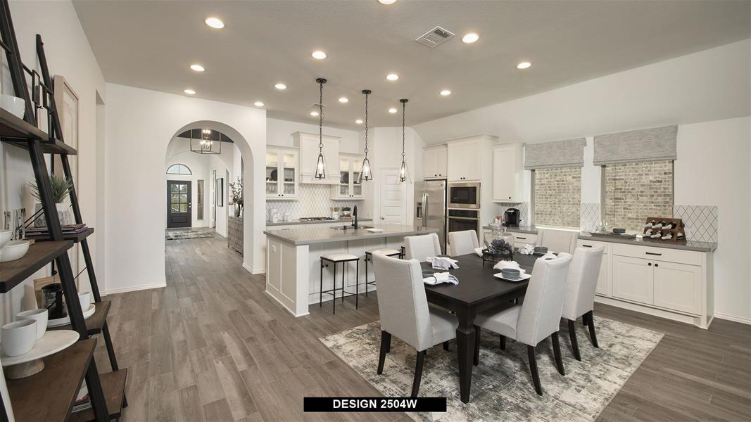 Design 2504W Dining Areas