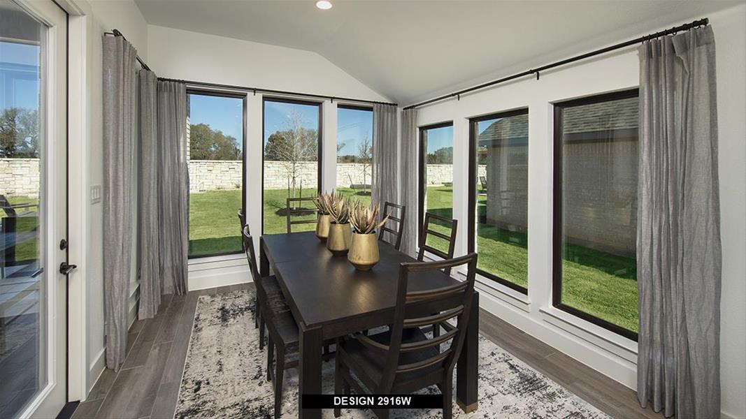 Design 2916W Dining Areas