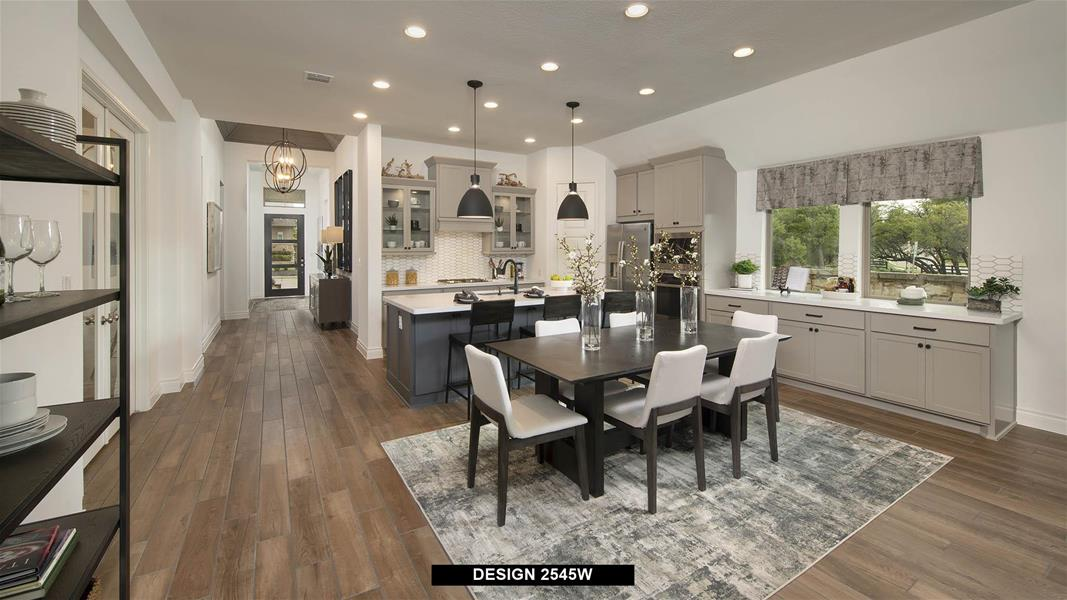 Design 2545W Dining Areas