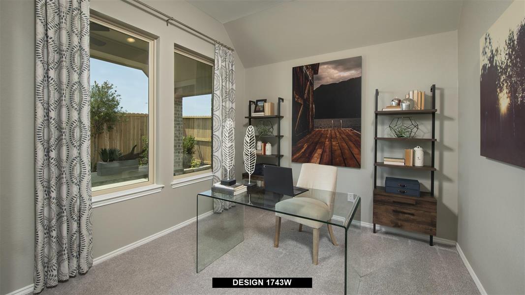 Design 1743W Home Office