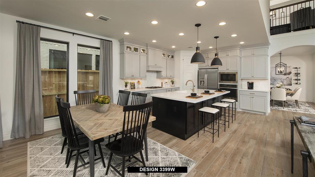 Design 3399W Kitchen
