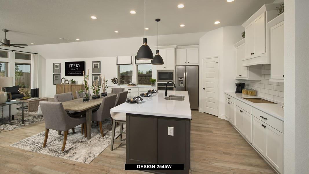 Design 2545W Kitchen