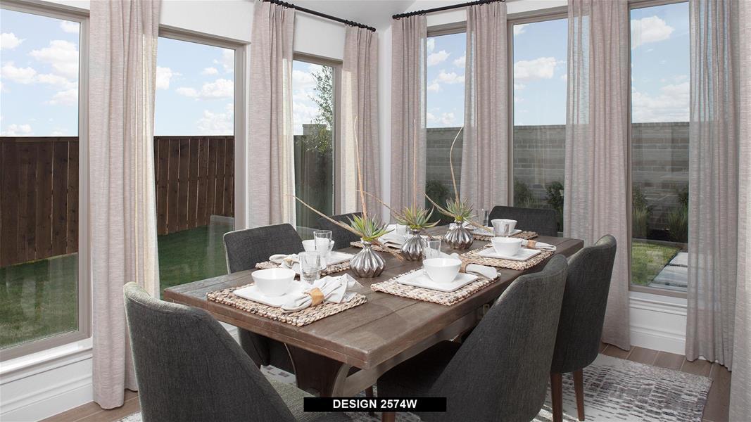 Design 2574W Dining Areas