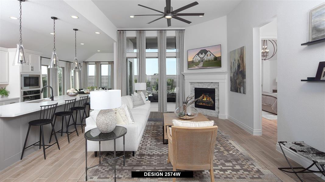 Design 2574W Family Room