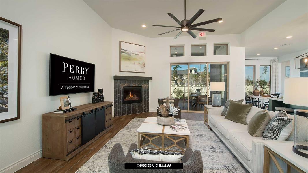 Design 2944W Family Room
