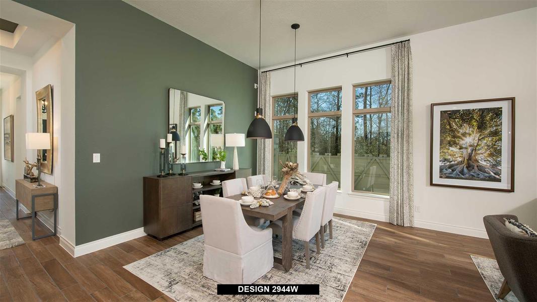 Design 2944W Dining Areas