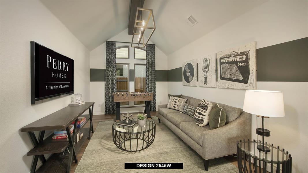 Design 2545W Game Room