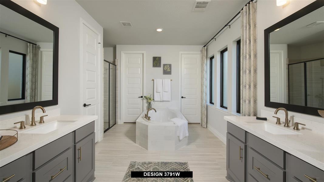 Design 3791W Bathroom
