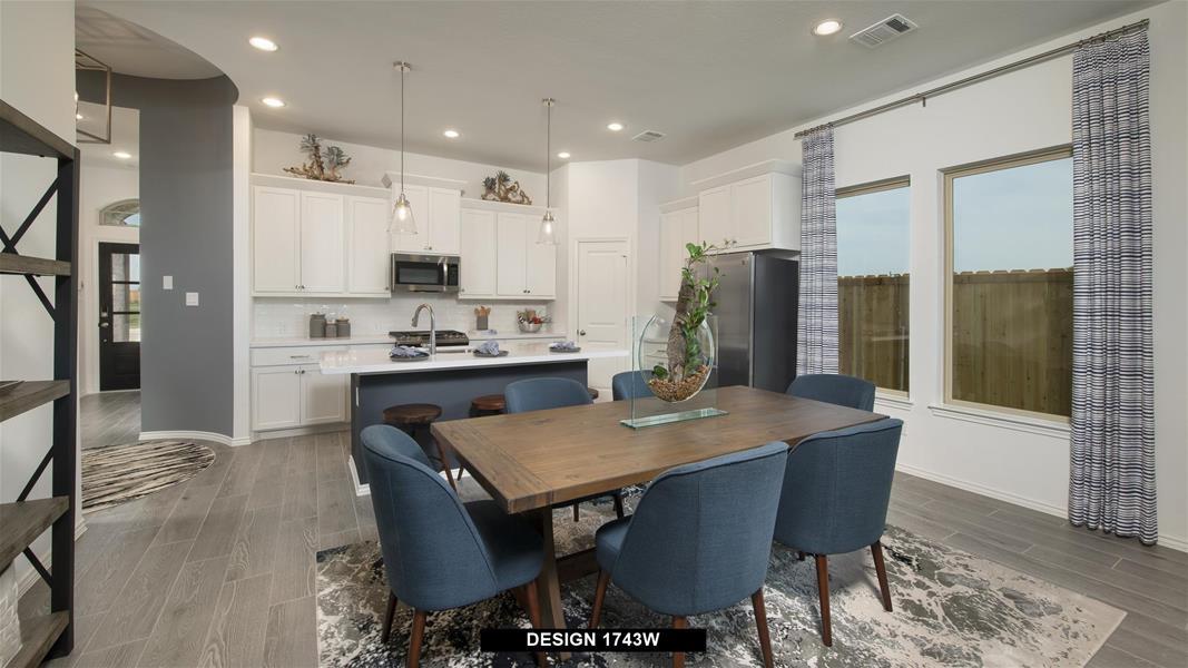 Design 1743W Dining Areas