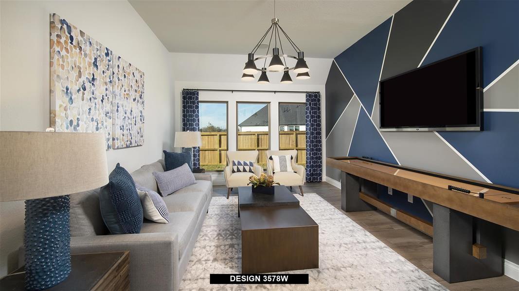 Design 3578W Game Room