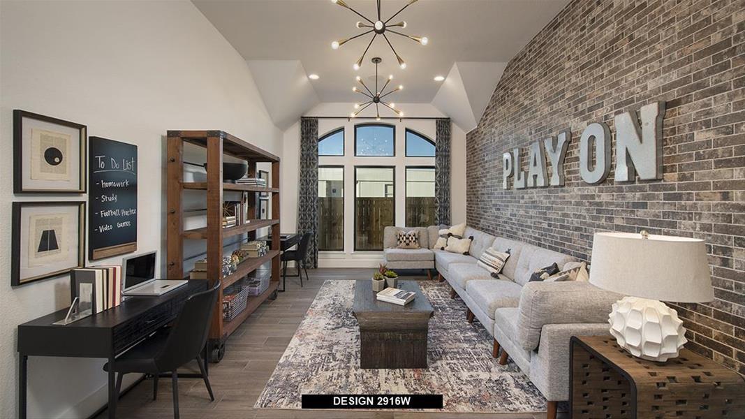 Design 2916W Game Room