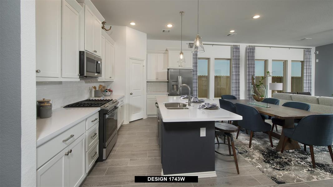 Design 1743W Kitchen
