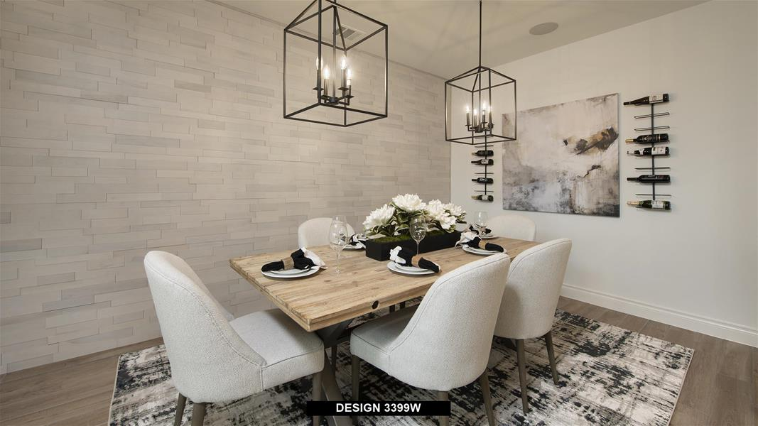 Design 3399W Dining Areas