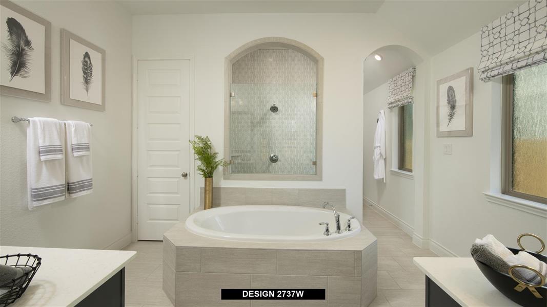 Design 2737W Bathroom