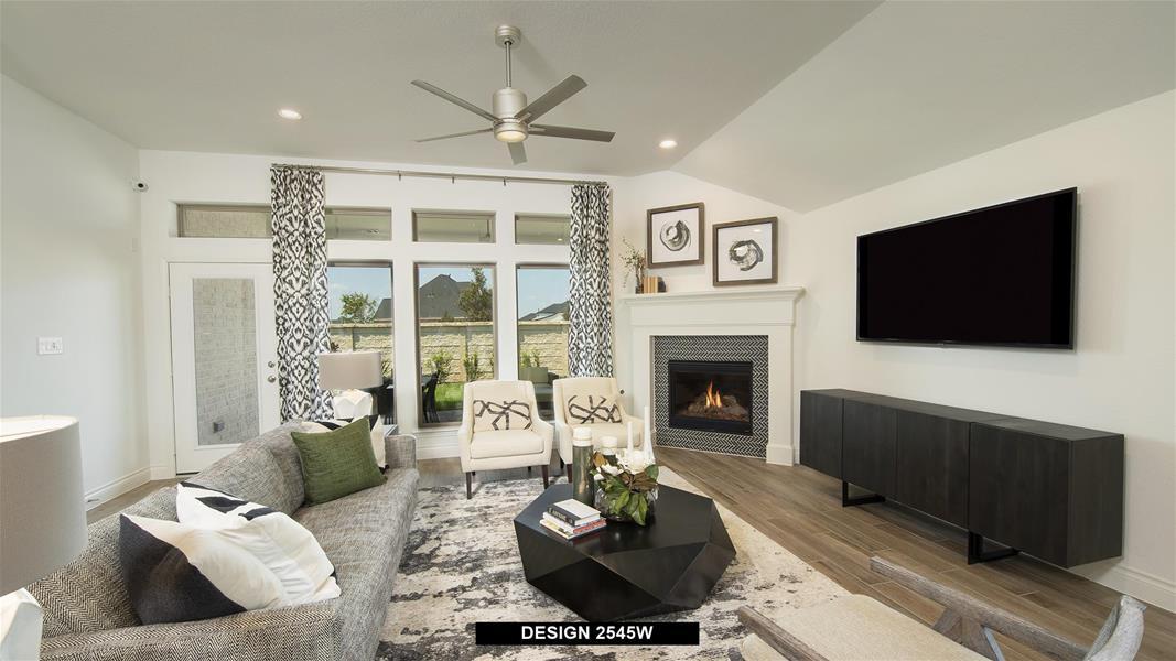 Design 2545W Family Room