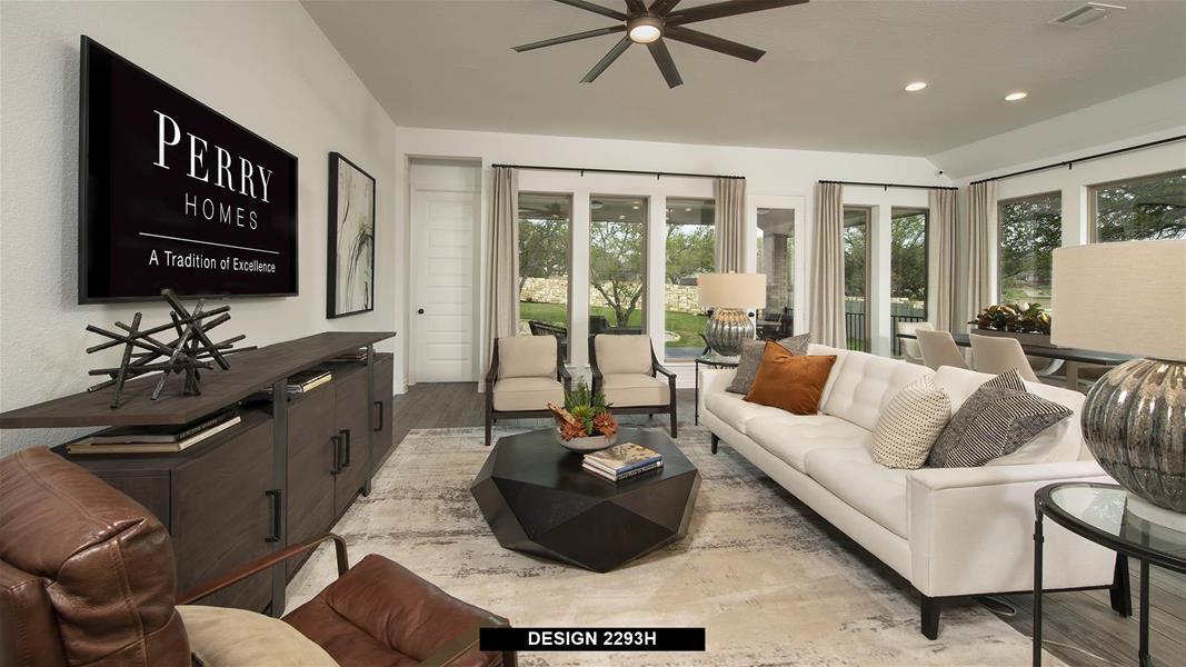 Design 2293H Family Room