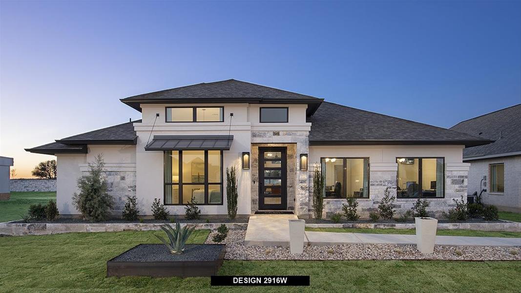 Design 2916W Exterior