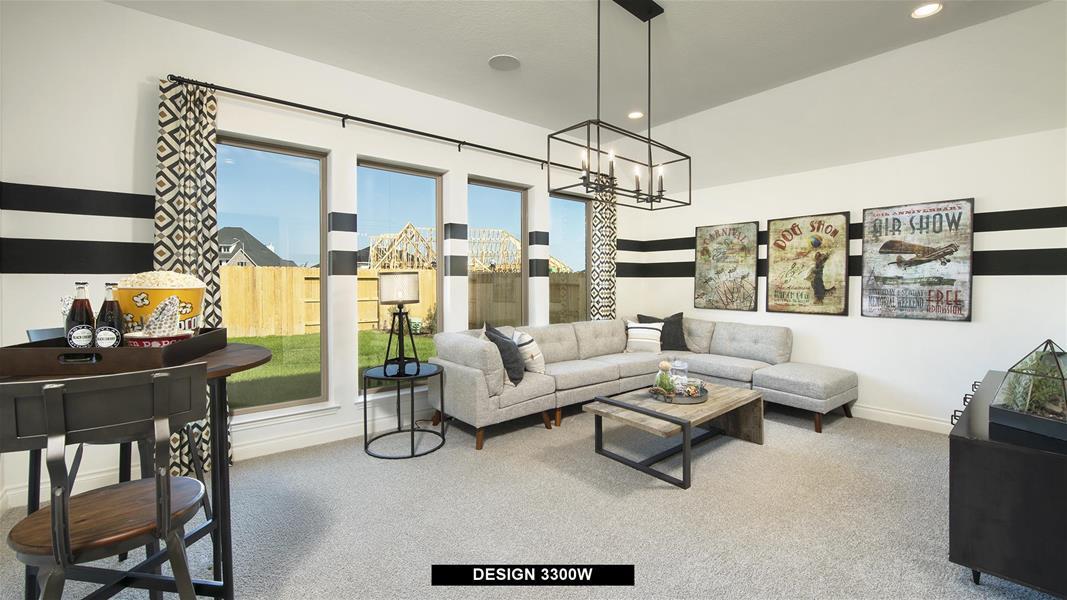 Design 3300W Game Room