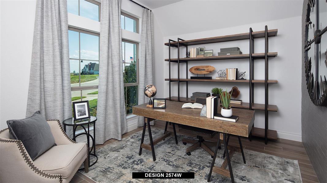 Design 2574W Home Office